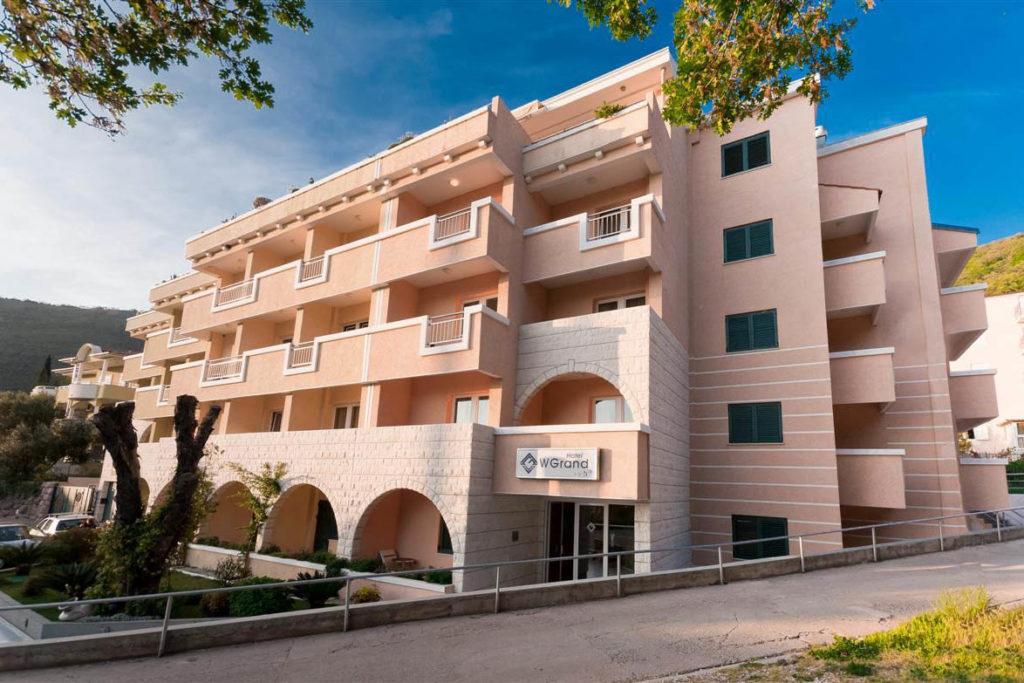 hotel wgrand petrovac - olimpia travel